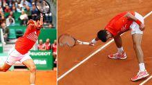 Novak Djokovic launches racquet into crowd in stunning meltdown