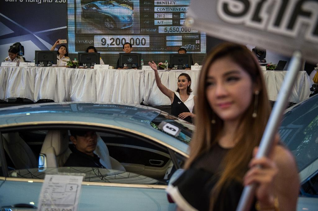 Thailand auctions seized supercars after stolen foreign