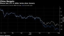 China's Tumbling Equities Now Look Very Attractive, to Some