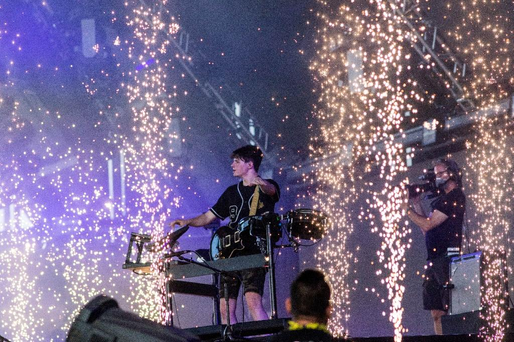 After initially aspiring to university, DJ Petit Biscuit dropped out to pursue music full-time (AFP Photo/Kyle Grillot)