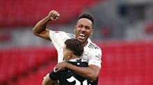 Pierre-Emerick Aubameyang shines as Arsenal win another trophy at Wembley