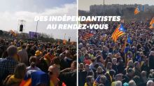 À Perpignan, une foule immense au meeting de l'indépendantiste catalan Puigdemont