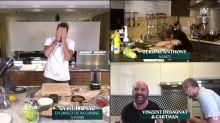 Tous en cuisine en direct avec Cyril Lignac : le chef prononce mal le nom d'un ingrédient et provoque un énorme fou rire !