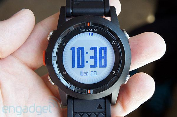 Garmin unveils Fenix, its first GPS watch for deep-pocketed outdoorsy types (hands-on)