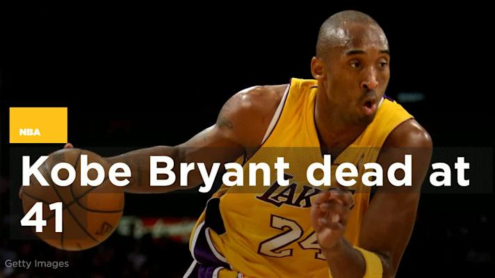 Kobe Bryant killed in helicopter crash in Calabasas