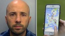 Police officer jailed for having sex with girl, 14, he tracked down on Snapchat