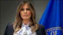 Melania Trump ruft zu Anstand im Netz auf - während ihr Mann auf Twitter wütet