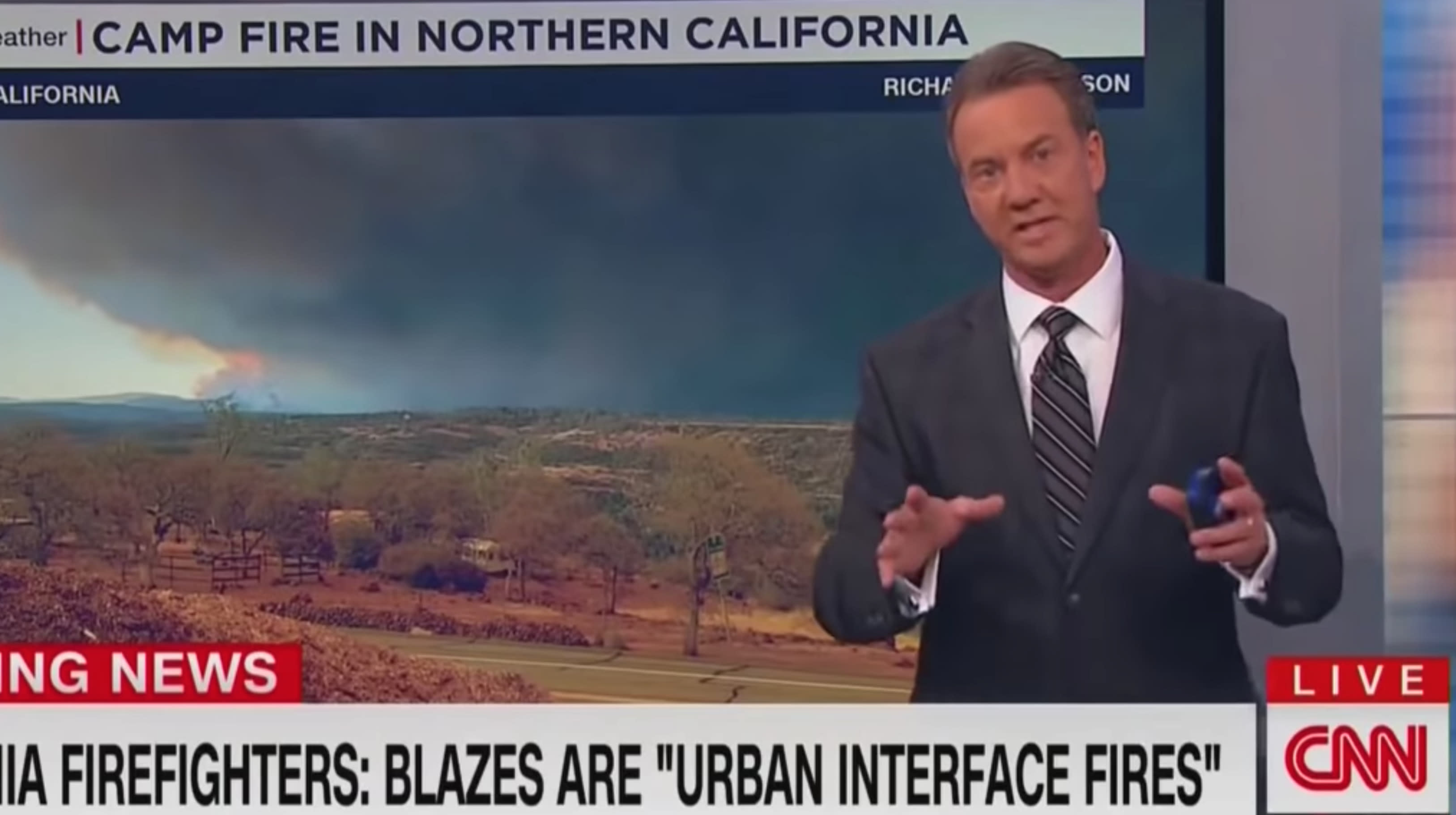 CNN Meteorologist Tom Sater Schools Trump On What Actually Caused California Wildfires