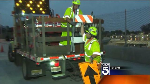 Northbound I-405 Lanes Scheduled to Close During `Jamzilla`