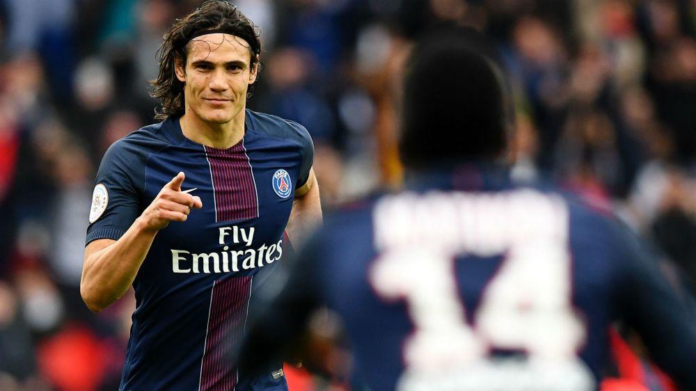 PSG, Cavani est le 2ème meilleur buteur en Europe derrière... Messi