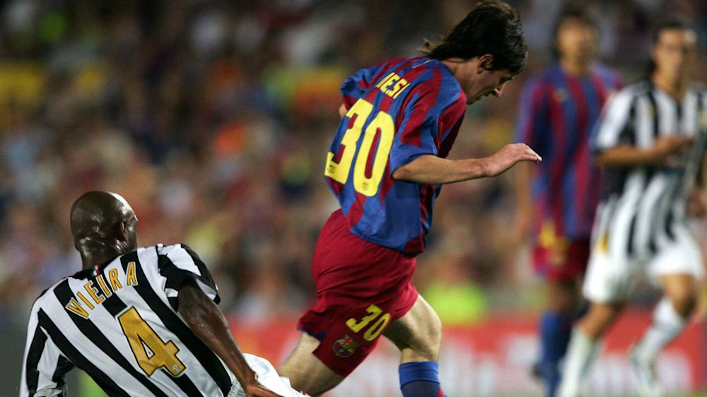 VIDEO - Messi-Juventus, 12 anni fa l'esordio da titolare