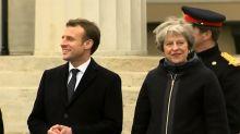 Calais : Emmanuel Macron rencontre Theresa May