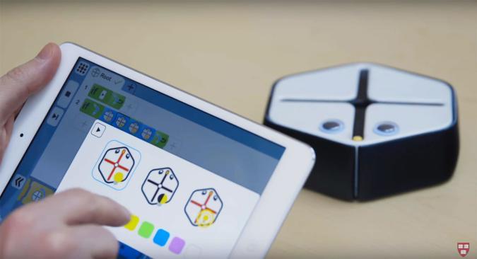 Harvard-made robot can teach kids how to code