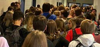 Coronavirus hits Georgia school seen in viral images