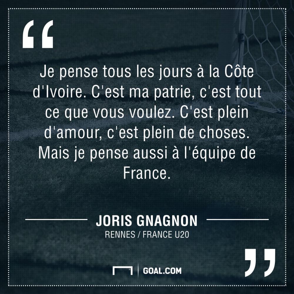 Joris Gnagnon France U20