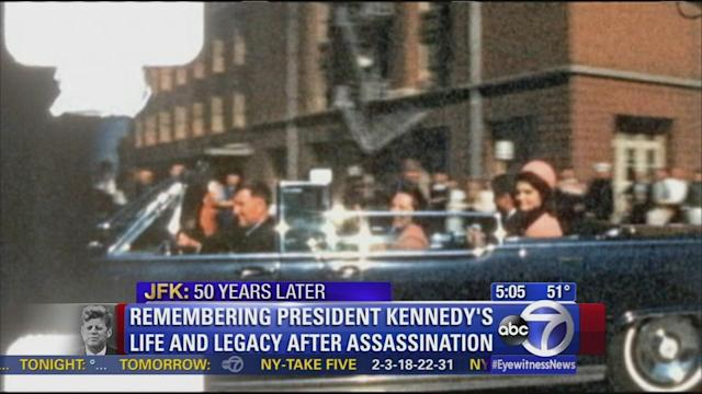 Dallas, nation mark 50 years since Kennedy assassination