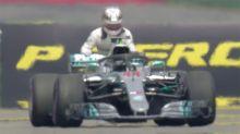 'Stupid, selfish and dangerous': Hamilton slammed for pushing broken-down F1 car