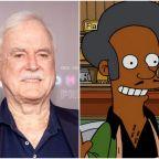 John Cleese mocks Hank Azaria's Apu regrets by apologising to 'white English people'