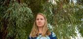 Hannah Wysong, a teacher at the Esperanza Community School in Tempe, Ariz., on Friday. (New York Times)