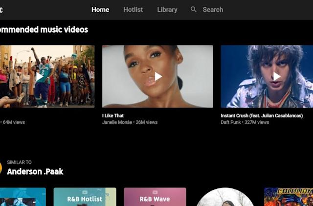 YouTube Music can handle gapless playback on the web and Android