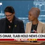 Reps. Omar, Tlaib call for an end to Israel's 'occupation' of Palestinian territories