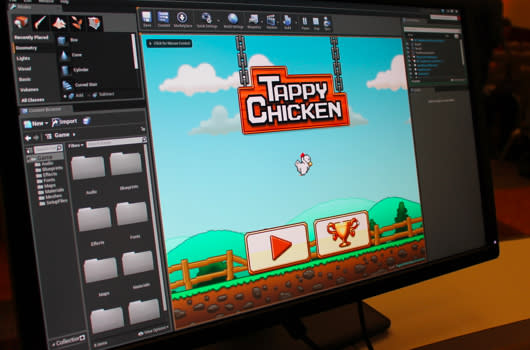 Seen@GDC: Unreal Engine 4 showcases power with Tappy Chicken
