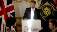 Prince Harry talks about the 'responsibility' he is about to take on as a father