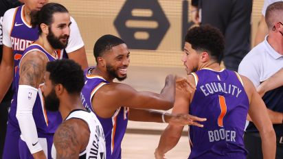 Disney magic: Suns only undefeated left in bubble