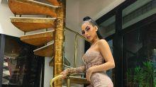 Barbie ostentação: MC Mirella usa vestido com 45 mil cristais na festa de 21 anos