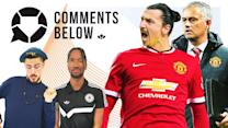 Zlatan to join Mourinho at Man United! | Comments Below