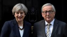Britain's May tries to warm the Brexit atmosphere with EU