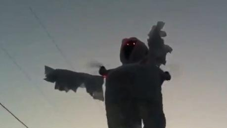 'Scary' Halloween Ghost-Quad