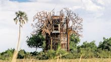 More Inside A New Safari Lodge Treehouse Tucked Away in Botswana's Okavango Delta