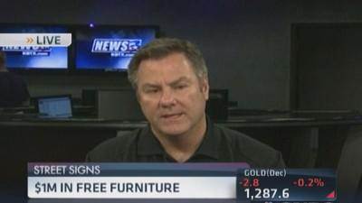 $1 Million furniture giveaway