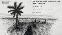 """""""Sit Down to have an idea"""" di Andrea Bianconi il 1 agosto a Tropea"""