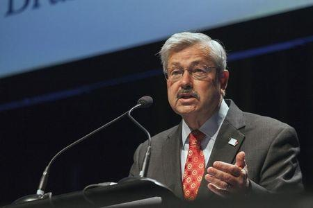 Iowa Governor Branstad speaks at the Family Leadership Summit in Ames