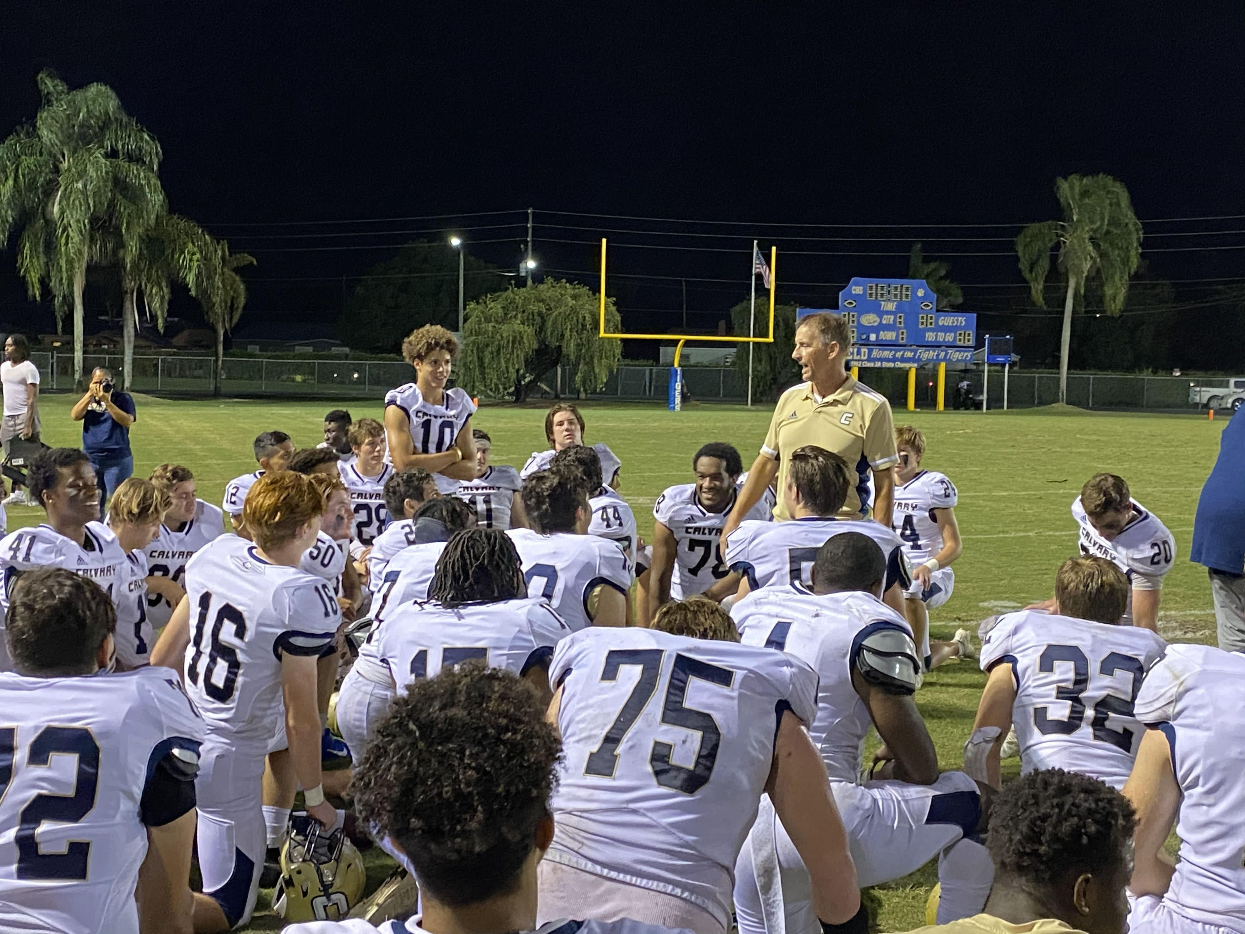 Positive COVID-19 test forces cancellation of Calvary Christian-Benjamin football game