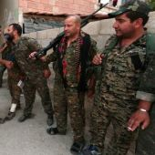 Kurdish militia launches assault to evict Syrian army from key city of Hasaka