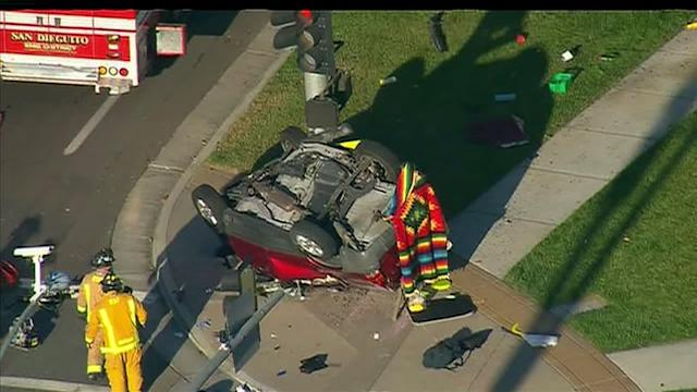 Man Killed In Crash At 4S Ranch Intersection