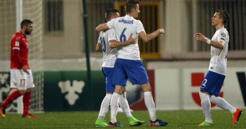 Foot - CM - Gr. F - Qualifications du Mondial 2018 : la Slovaquie s'en sort à Malte