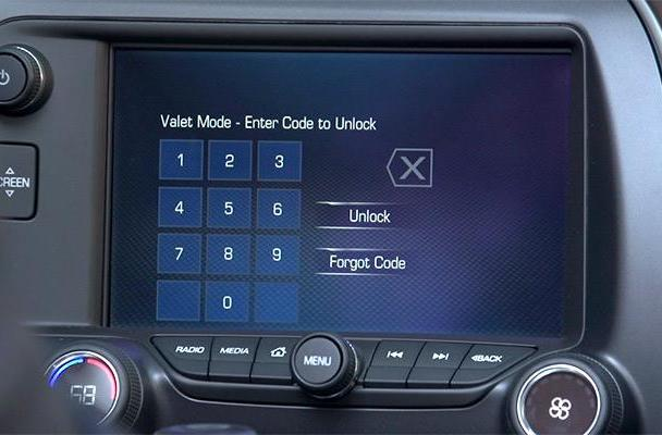 The 2015 Corvette has a video recording of everything the valet did in your car