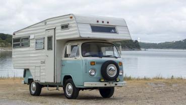 變成蝸牛露營車的Volkswagen T2既稀有又可愛