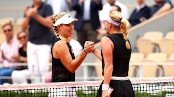 Teen sends Kerber packing in French Open debut