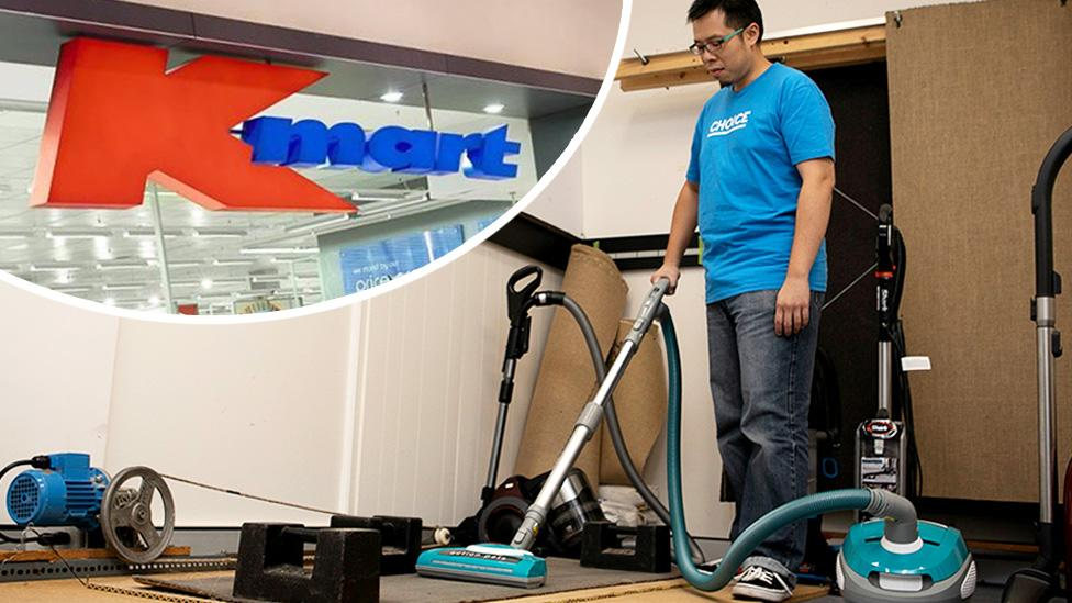 'They suck': Kmart vacuum cleaners come dead last in test