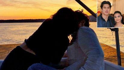 Camila Mendes Celebrates 1-Year Anniversary with Boyfriend Charles Melton: 'I Love You'