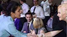 Is Hugh Jackman mesmerised by Priyanka Chopra? See pic
