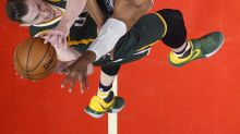 Utah Jazz's Gordon Hayward and Los Angeles Clippers' Paul Pierce in NBA playoff action and more: April 30 in photos