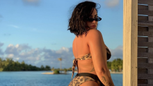 Demi Lovato posts unedited bikini photo showing her cellulite: 'Here's me, raw, real'