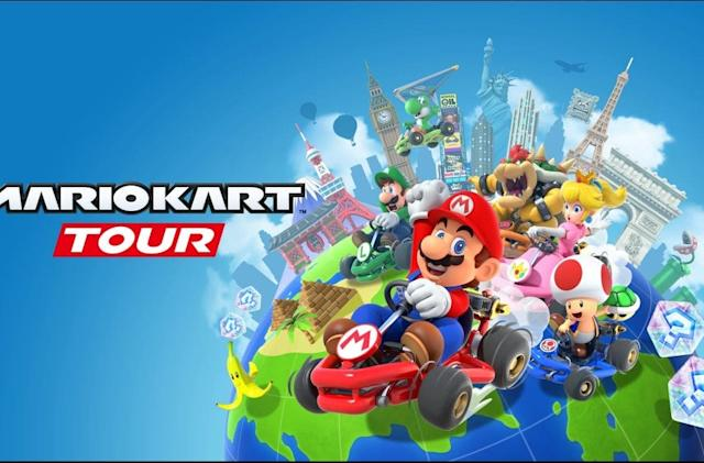 'Mario Kart Tour' multiplayer test is coming in December