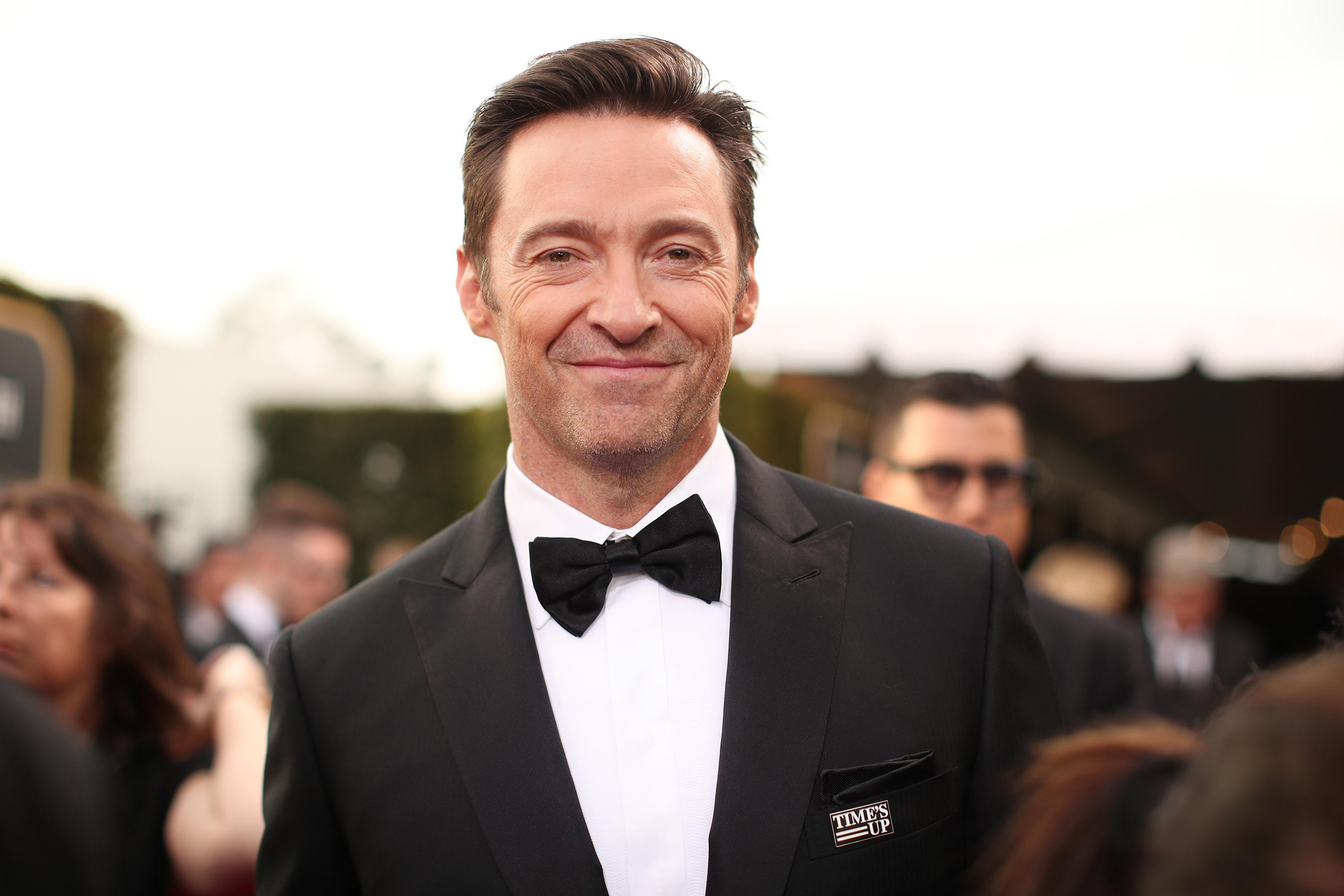 Hugh Jackman Contracts Nasty Case Of Down Syndrome